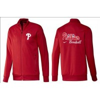 Baseball Philadelphia Phillies Zip Jacket Red