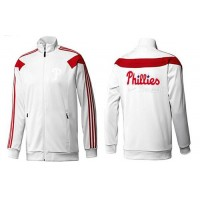 Baseball Philadelphia Phillies Zip Jacket White_2