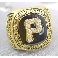 Baseball Pittsburgh Pirates World Champions Gold Ring