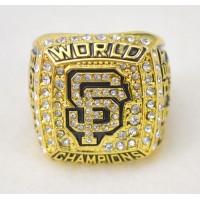 Baseball San Francisco Giants World Champions Gold Ring_1