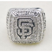 Baseball San Francisco Giants World Champions Silver Ring_3