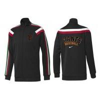 Baseball San Francisco Giants Zip Jacket Black_3