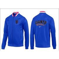 Baseball San Francisco Giants Zip Jacket Blue_1