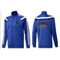 Baseball San Francisco Giants Zip Jacket Blue_2