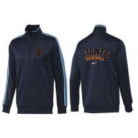 Baseball San Francisco Giants Zip Jacket Dark Blue