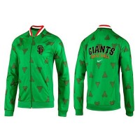 Baseball San Francisco Giants Zip Jacket Green