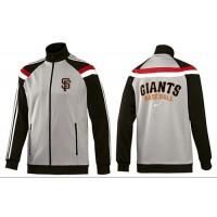 Baseball San Francisco Giants Zip Jacket Grey