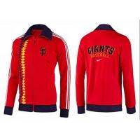 Baseball San Francisco Giants Zip Jacket Orange