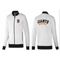 Baseball San Francisco Giants Zip Jacket White_1