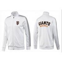 Baseball San Francisco Giants Zip Jacket White_2
