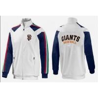 Baseball San Francisco Giants Zip Jacket White_3