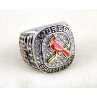 Baseball St.Louis Cardinals World Champions Silver Ring