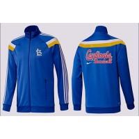 Baseball St.Louis Cardinals Zip Jacket Blue_2