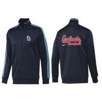 Baseball St.Louis Cardinals Zip Jacket Dark Blue