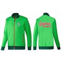 Baseball St.Louis Cardinals Zip Jacket Green