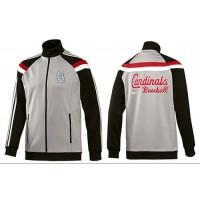 Baseball St.Louis Cardinals Zip Jacket Grey