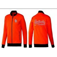 Baseball St.Louis Cardinals Zip Jacket Orange