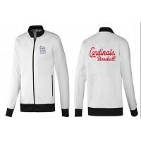 Baseball St.Louis Cardinals Zip Jacket White_1