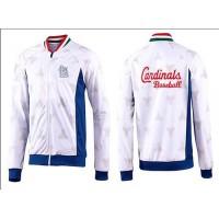 Baseball St.Louis Cardinals Zip Jacket White_2