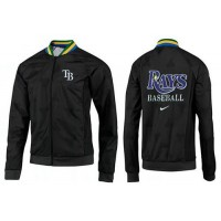 Baseball Tampa Bay Rays Zip Jacket Black