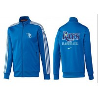 Baseball Tampa Bay Rays Zip Jacket Blue_1