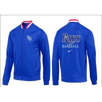 Baseball Tampa Bay Rays Zip Jacket Blue_3
