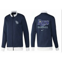 Baseball Tampa Bay Rays Zip Jacket Dark Blue