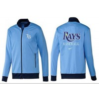 Baseball Tampa Bay Rays Zip Jacket Light Blue
