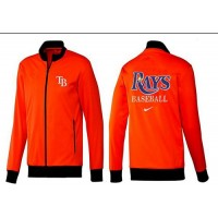 Baseball Tampa Bay Rays Zip Jacket Orange_1