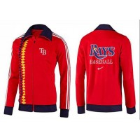 Baseball Tampa Bay Rays Zip Jacket Orange_2