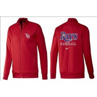 Baseball Tampa Bay Rays Zip Jacket Red