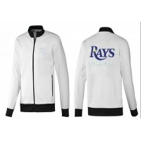 Baseball Tampa Bay Rays Zip Jacket White_1