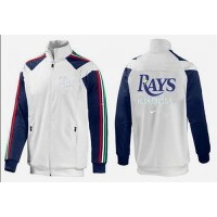 Baseball Tampa Bay Rays Zip Jacket White_2