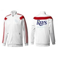 Baseball Tampa Bay Rays Zip Jacket White_3