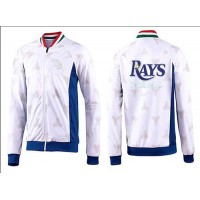 Baseball Tampa Bay Rays Zip Jacket White_4