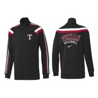 Baseball Texas Rangers Zip Jacket Black