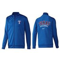 Baseball Texas Rangers Zip Jacket Blue_1