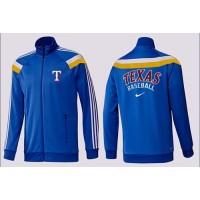Baseball Texas Rangers Zip Jacket Blue_3