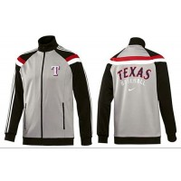 Baseball Texas Rangers Zip Jacket Grey