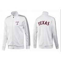 Baseball Texas Rangers Zip Jacket White_1