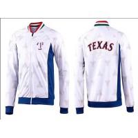 Baseball Texas Rangers Zip Jacket White_3
