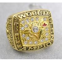 Baseball Toronto Blue Jays World Champions Gold Ring_2