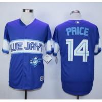 Blue Jays #14 David Price Blue Exclusive New Cool Base Stitched Baseball Jersey