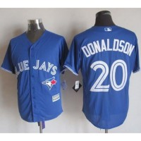 Blue Jays #20 Josh Donaldson Blue New Cool Base Stitched Baseball Jersey