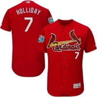 Cardinals #7 Matt Holliday Red Flexbase Authentic Collection Stitched Baseball Jersey