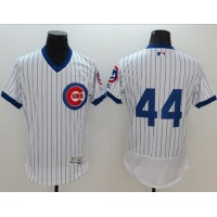 Chicago Cubs #44 Anthony Rizzo White Flexbase Authentic Collection Cooperstown Stitched Baseball Jersey