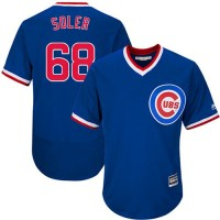 Chicago Cubs #68 Jorge Soler Blue Flexbase Authentic Collection Cooperstown Stitched Baseball Jersey