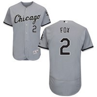 Chicago White Sox #2 Nellie Fox Grey Flexbase Authentic Collection Stitched MLB Jersey