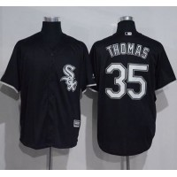 Chicago White Sox #35 Frank Thomas Black New Cool Base Stitched MLB Jersey