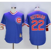 Cubs #22 Jason Heyward Blue Cooperstown Stitched Baseball Jersey